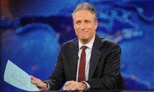 Jon Stewart, former host of The Daily Show.