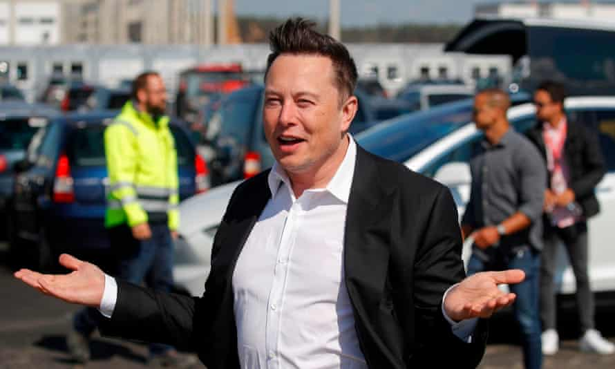 Elon Musk was paid $595m last year, almost 10,000 times the median pay at Tesla.