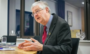 The first minister of Wales, Labour's Mark Drakeford.