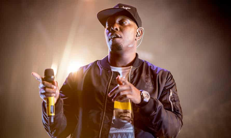 Dizzee Rascal headlining the West Holts stage.