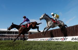Beware The Bear ridden by Jeremiah McGrath beats Vintage Clouds ridden by Danny Cook to win the Ultima Handicap Chase.
