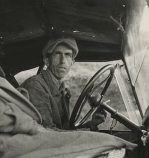 Ditched, Stalled, and Stranded, San Joaquin Valley, California, 1936.