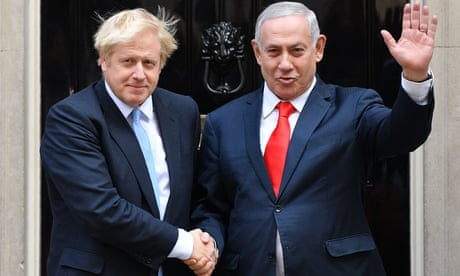 Israeli PM in London to urge Johnson to end nuclear talks with Iran