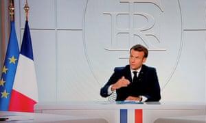 Emmanuel Macron announces new coronavirus restrictions, including a curfew in Paris.