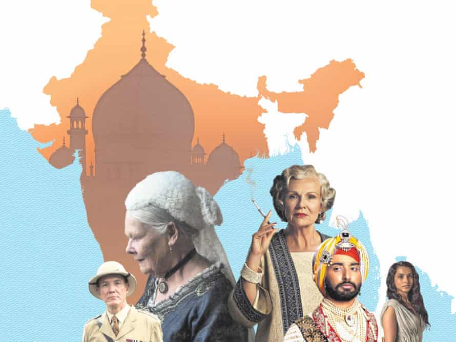 Characters from TV's Indian Summers, plus the more realistic forthcoming movies Victoria & Abdul and The Black Prince