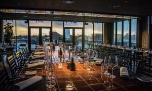 Tramonto, rooftop restaurant and lounge, Carlsberg City District, Copenhagen, Denmark.