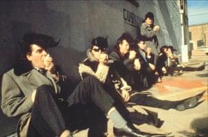 Rockabilly, Finnish style … 1989's Leningrad Cowboys Go America.