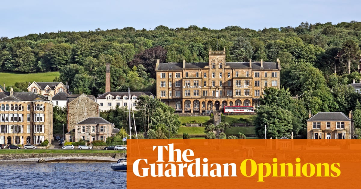 Rothesay's decline as a seaside resort is not unique, but its beauty most certainly is