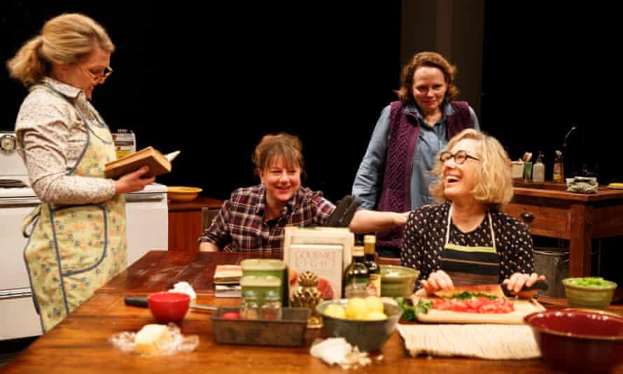 Lynn Hawley, Amy Warren, Maryann Plunkett and Meg Gibson in The Gabriels