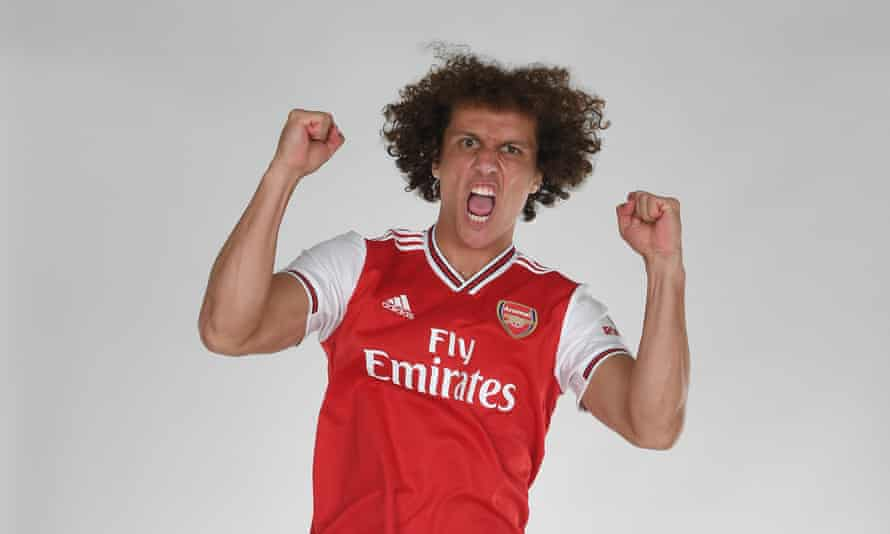 David Luiz moved to Arsenal on deadline day.