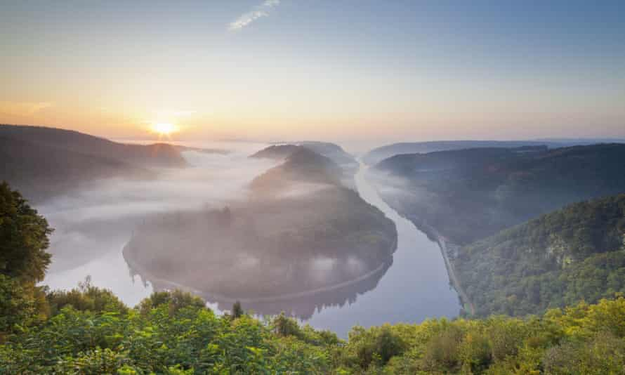 The Saar Bow in Saarland: the state was the first in Germany to become a certified sustainable destination, with more than two-thirds of its landscape now under conservation.