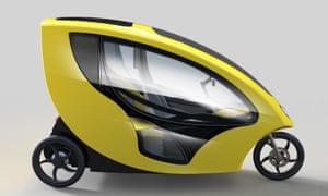 Mellowcabs' electric minicab
