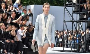 Dior Homme show, Paris.
