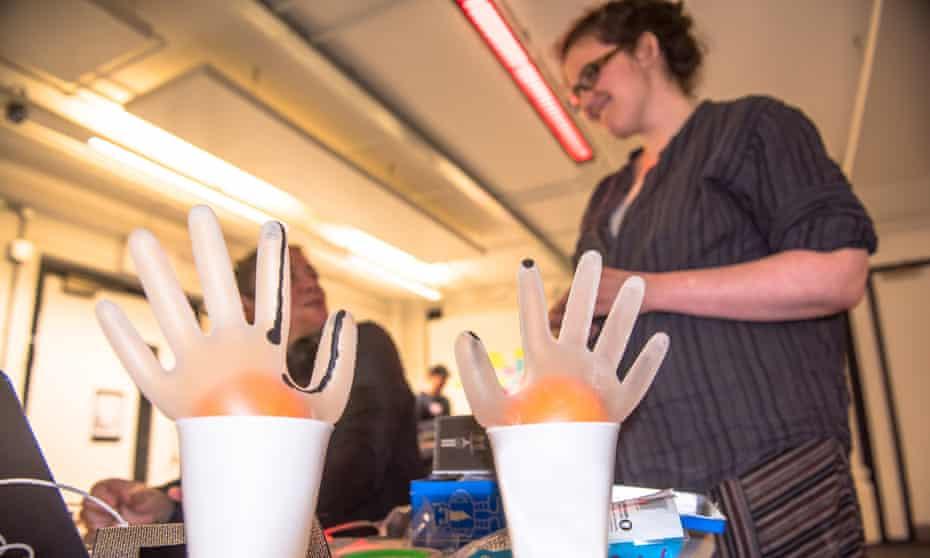 The sex tech hackathon under way at Goldsmiths, University of London.