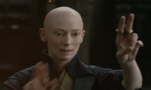 The Ancient One (Tilda Swinton) in Doctor Strange.