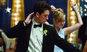 Miles Teller's award-winning performance in The Spectacular Now, with Brie Larson.