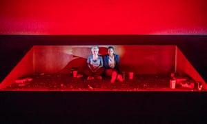 Debra Baker and Jessye Romeo in Big Guns by Nina Segal at the Yard, London