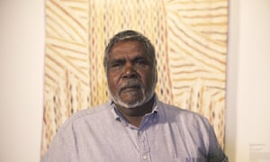 Djambawa Marawili, is the overall winner of the National Aboriginal and Torres Strait Islander art award (Naatsia)