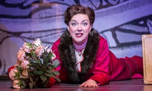 Sheridan Smith as Fanny Brice in Funny Girl.