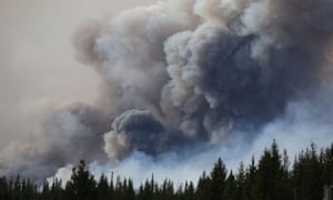 The fire had expanded by 68,000 hectares in the past day, making it more than six times the size of Toronto.