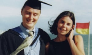 Joanne Lees pictured with Peter Falconio.