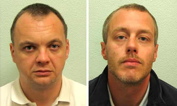 Gary Dobson, left, and David Norris were convicted of Stephen's murder in 2012.