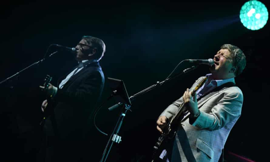 Chris Difford and Glenn Tilbrook of Squeeze in Brighton.