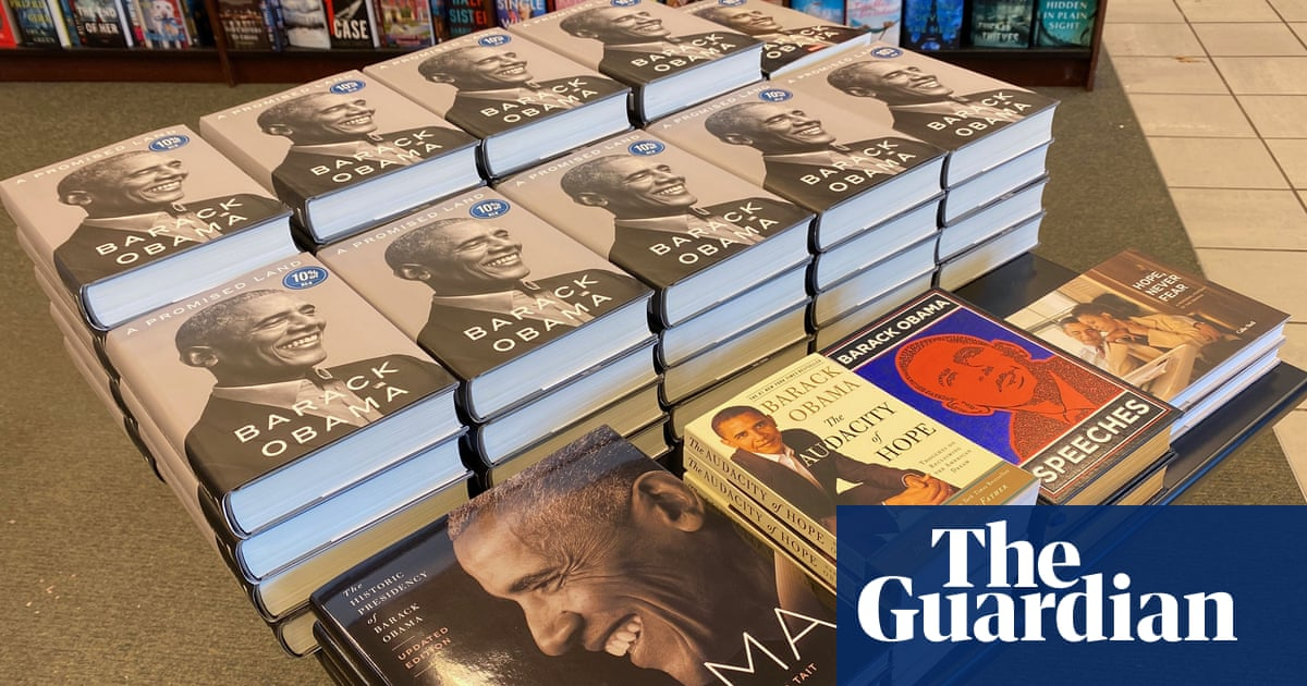Obama's A Promised Land on track to become best selling presidential memoir – The Guardian