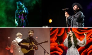 Billie Ellish, Leon Bridges, Kacey Musgraves and and Mumford and Sons.