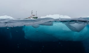 The samples were collected during a three-month expedition to the Antarctic aboard the Greenpeace ship, Arctic Sunrise, from January to March 2018.