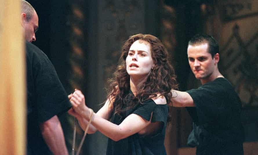 Tara Fitzgerald in Sophocles's Antigone.
