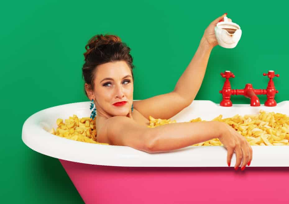 Grace Dent: 'My ultimate soothing snack is crisp, vinegary chips with plenty of salt and lots of gravy.'
