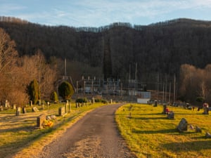 Cemetery in Webster county, West Virginia.