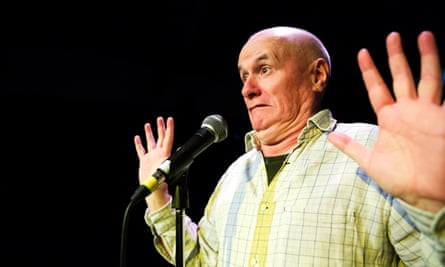 Humility and starry eyes … Dave Johns.