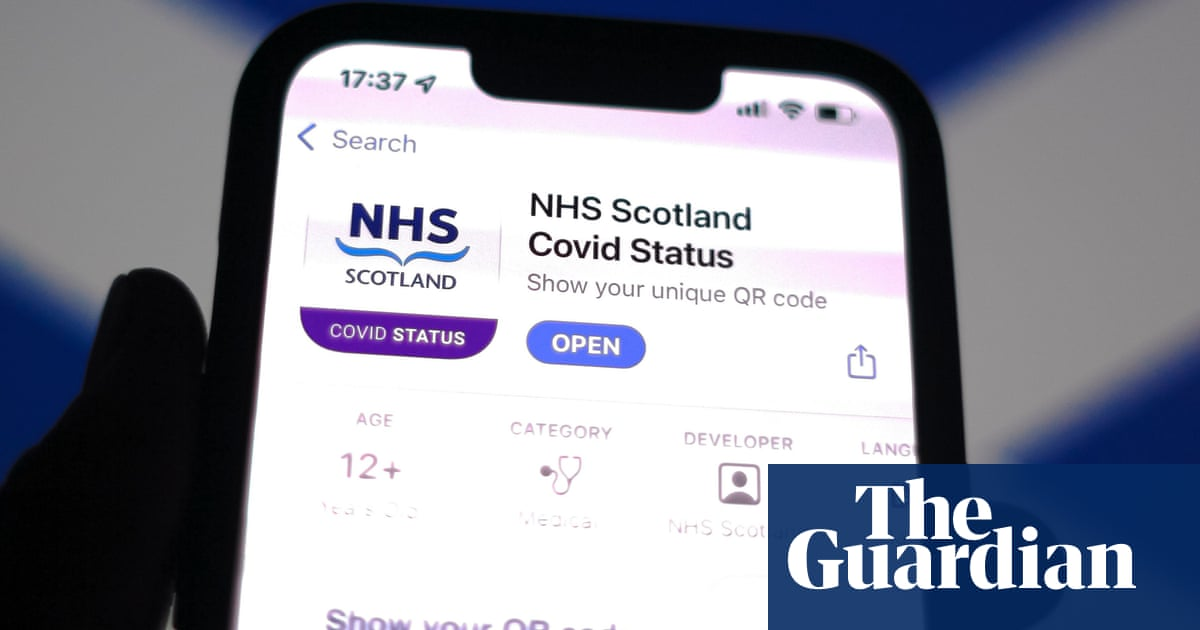 Scottish Covid vaccine passport app hit by problems after launch