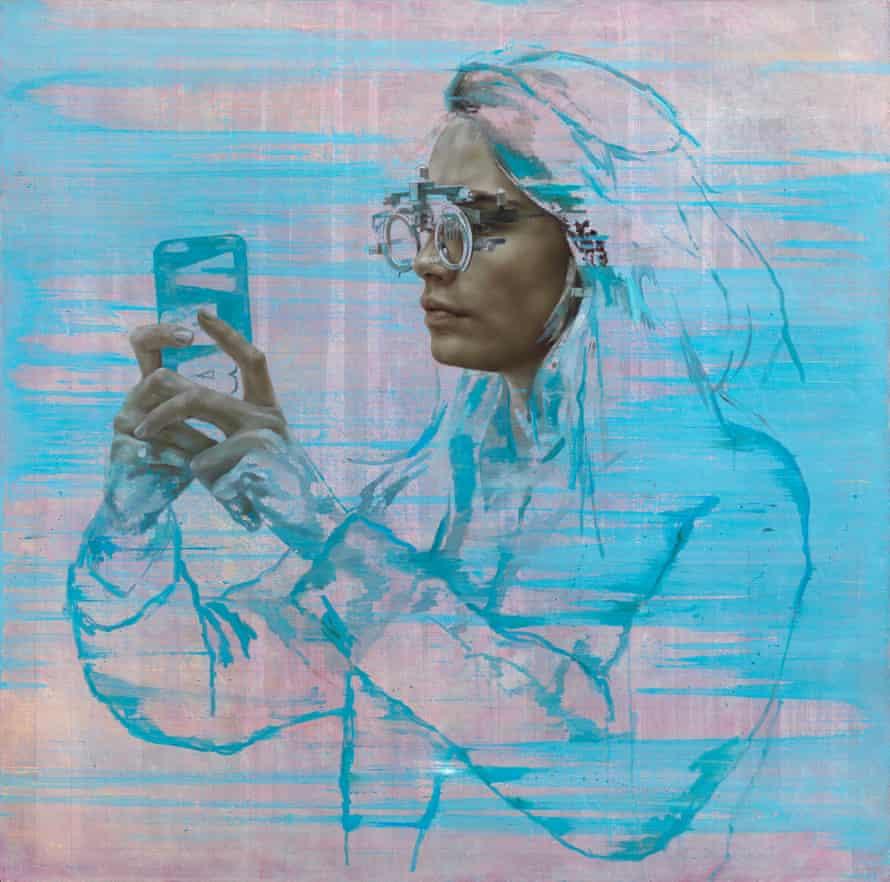 Cara IV (Selfie), by Jonathan Yeo.