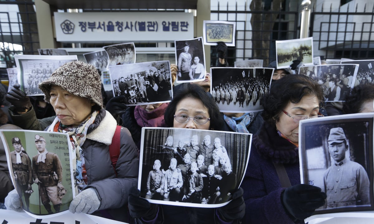 korean comfort women essay