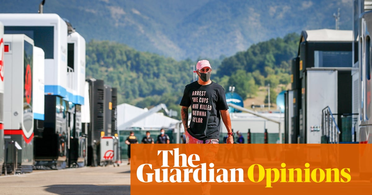 Lewis Hamilton did something far greater than win awards and races in 2020 | Giles Richards