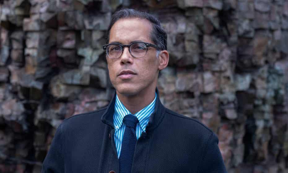 Prof Matthew Smith next to wall