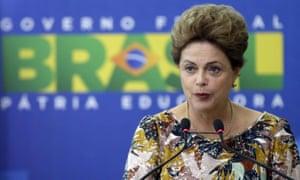 Brazilian president Dilma Rousseff