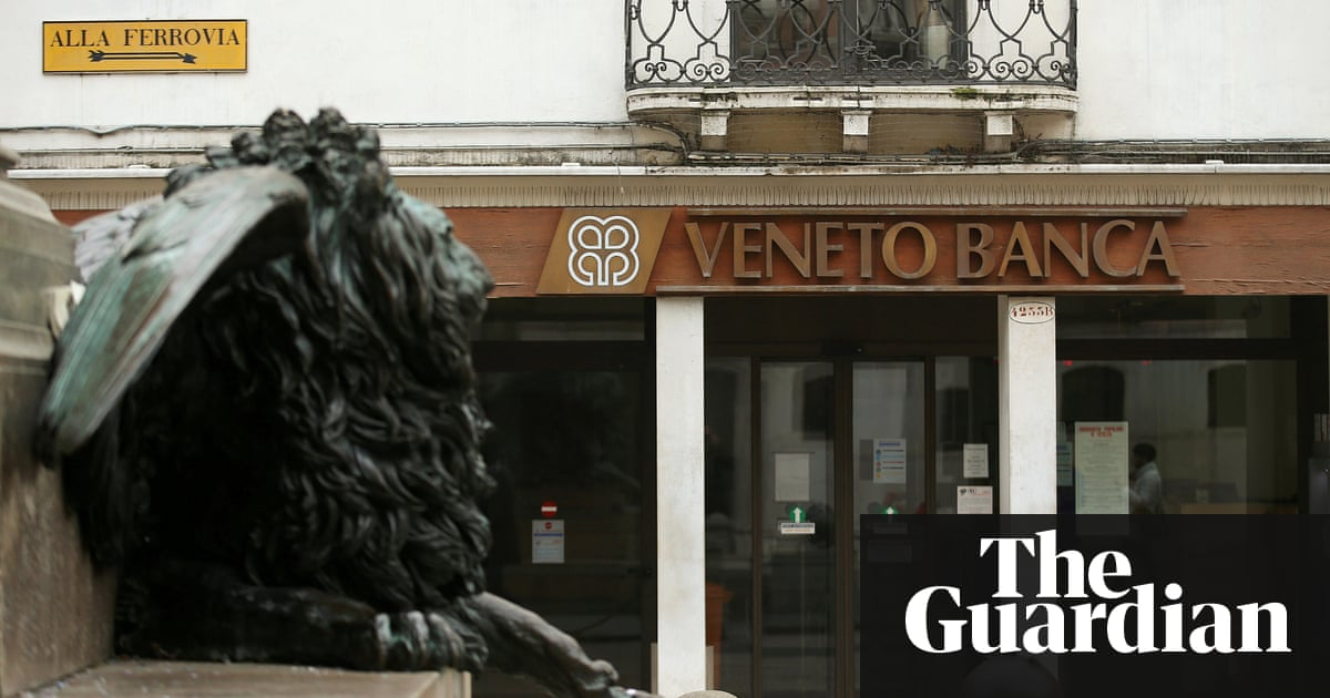Banco Nationale Di Lavoro : Italy to wind up two failing banks at potential cost of u20ac17bn