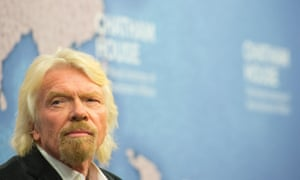 Richard Branson, co-founder of the B Team coalition of chief executives for climate action.