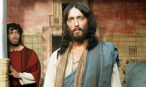 Robert Powell in the title role from the 1977 TV drama Jesus of Nazareth