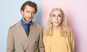 You feel he'd have liked the odd bowl of pasta: Francesco Carrozzini and his mother Franca Sozzani.