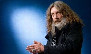 Deconstruction of the superhero myth … Alan Moore.