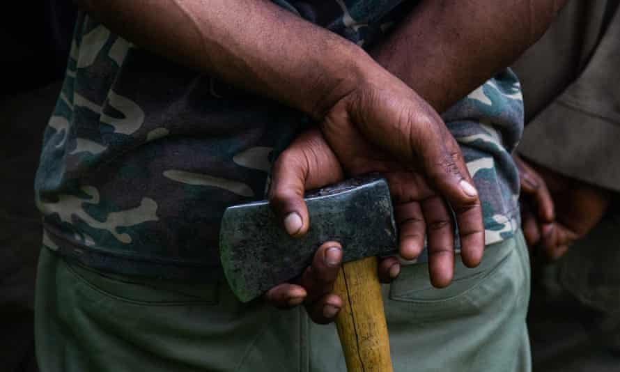 Axes and traditional weapons have given way to high-powered firearms in tribal conflicts across Papua New Guinea