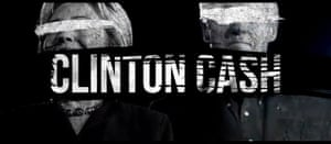 A PR image for the Clinton Cash documentary