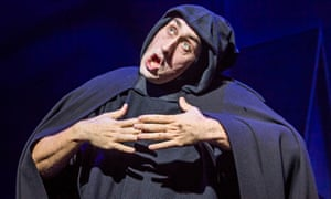 Ross Noble in Young Frankenstein at the Garrick, London