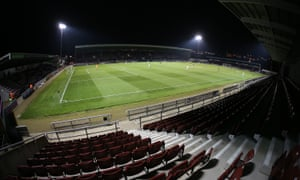 Improvements at Northampton's Sixfields stadium were never completed and £10.25m remains owing to Northampton borough council.