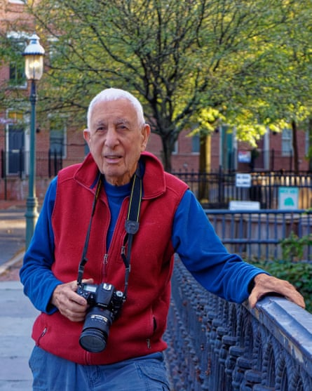 The photographer Jon Naar in 2012.